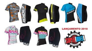 Conjunto Ciclismo Oggi Mtb Modelos 2018 Camisa Mc + Bermuda