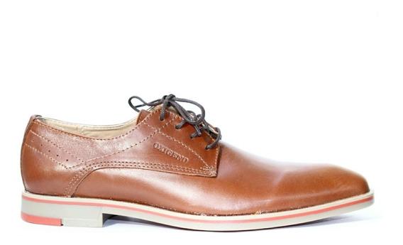 Zapato Hombre Acordonado Cuero 150o Suela