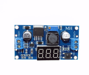 Regulador Tensão Ajustável Lm2596s Step Down Dc Dc + Display