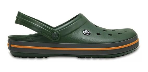 Crocs Crocband 11016 Forest Green / Slate Grey (1003)