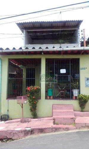 Casa Com 4 Dormitórios Sendo Um Suite À Venda, 72 M² Por R$ 180.000 - São Raimundo - Manaus/am - Ca3735