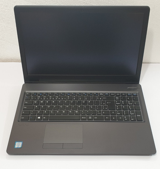 Notebook Vaio Fit 15s Vjf155 I7-7500u 8gb/ssd 256 M2+hd500gb