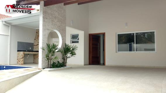 Casa Nova Com Piscina 200 Metros Da Praia Em Peruibe , Projeto Arrojado - Ca01024 - 33360805