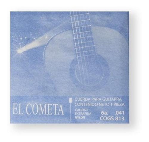 Imagen 1 de 1 de El Cometa Cuerda 813(12) Para Guitarra Clásica, 6a, Cobre