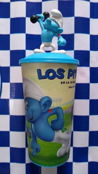 Vaso Fortachon, Los Pitufos Cinemex Siul Toys.