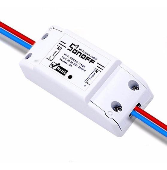 Kit 5 Interruptor Switch Inteligente Sonoff Wifi Domotica