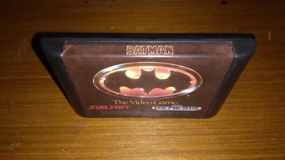 Batman The Video Game - Mega Drive Paralelo