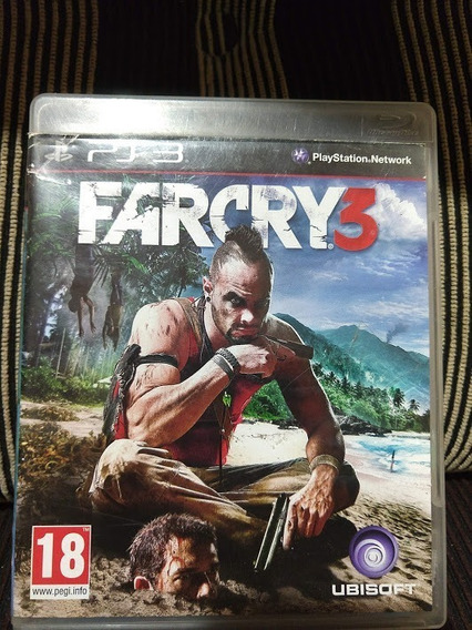 Far Cry 3 Farcry 3 Ps3 Original Mídia Física Perfeito Estado
