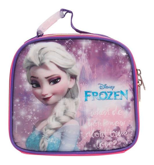 Lancheira Infantil Frozen Elsa Dermiwil Disney 30175