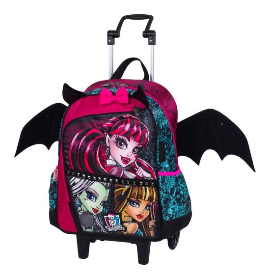Mochila Infantil G Rodinhas Original Sestini -monster High