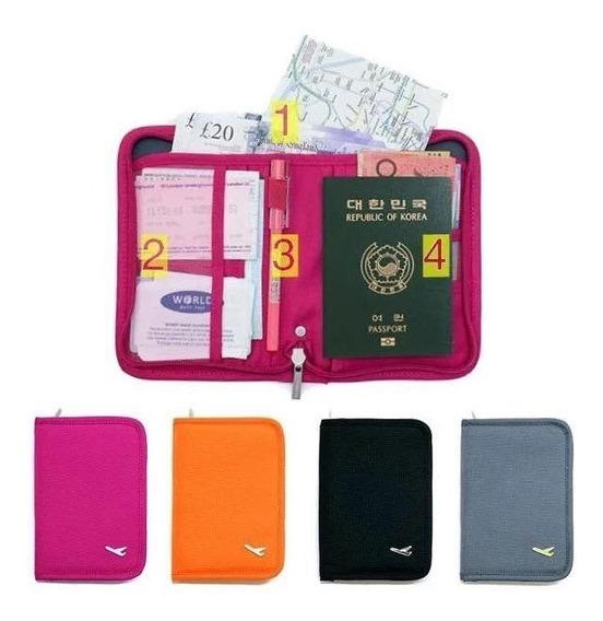 Porta Pasaporte, Porta Documentos, Viajes, Organizador