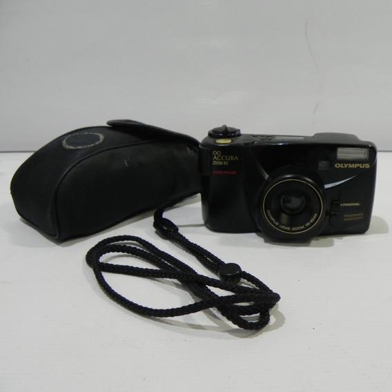 Câmera Analógica Olympus Accura Zoom 80 Colecionador- Usado