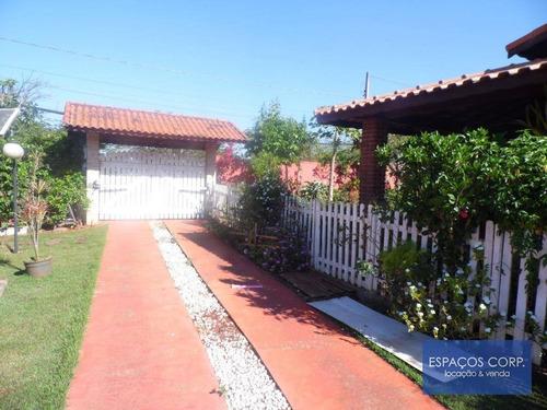 Belíssima Chácara  Residencial À Venda, Fazenda Castelo, Condomínio Vitassay, Boituva. - Ch0010
