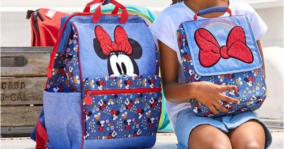Mochila E Lancheira Minie - Disney Original