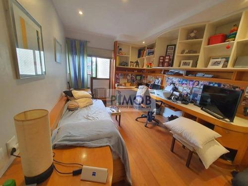 Apartamento Com 4 Dormitórios À Venda, 240 M² Por R$ 2.400.000,00 - Barra Da Tijuca - Rio De Janeiro/rj - Ap1285