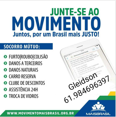 Proteção Veicular Movimento Mais Brasil / Brasilia
