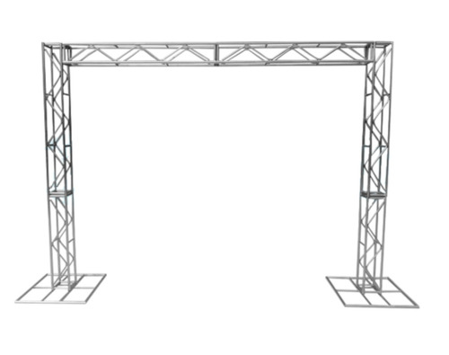 Imagem 1 de 6 de Treliças Kit Trave Box Truss Dj Q20 Aço 2,5/3m - Lourenço