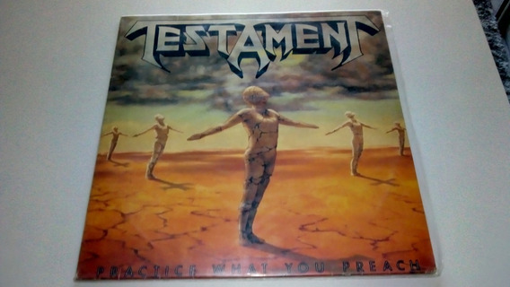 Testament - Lp Disco Vinil - Practice What You Preach