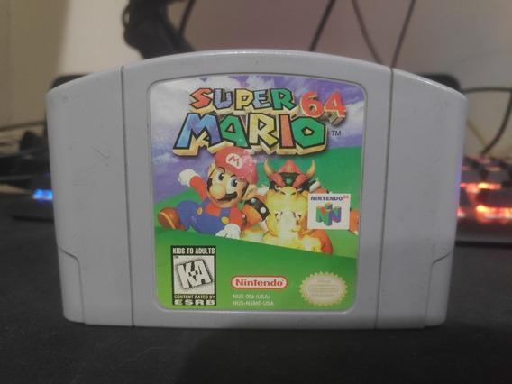 Super Mario 64 Original Em Excelente Estado E Salvando 100%