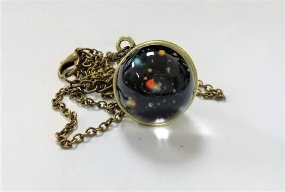 Collar Sistema Solar -galaxia-envío Gratis
