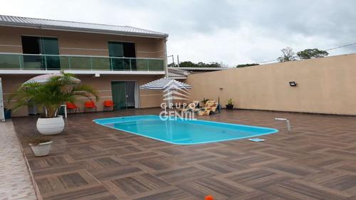Casa Com 9 Dormitórios À Venda Por R$ 580.000,00 No Bairro Balneário Solimar - Matinhos / Pr - Gentil166
