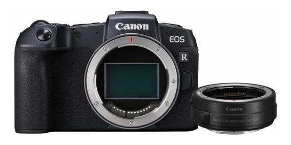 Câmera Mirrorless Canon Eos Rp + Adaptador Ef Ef-s Top!