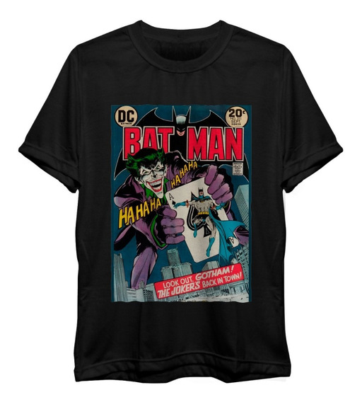 Camiseta Joker Comics Coringa Dc Batman Freekz