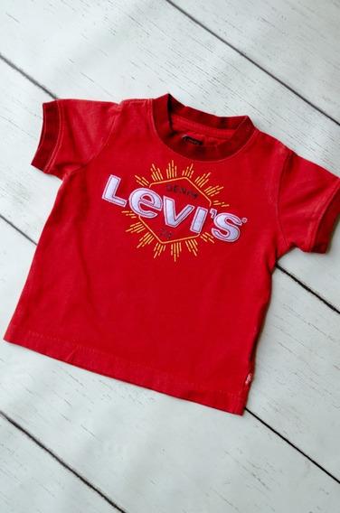 Playera Levis Roja 2 Años