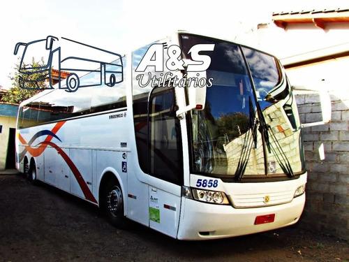 Imagem 1 de 14 de Busscar Vissta Buss Hi Ano 2001 Scania K124 6x2 Ais Ref 671