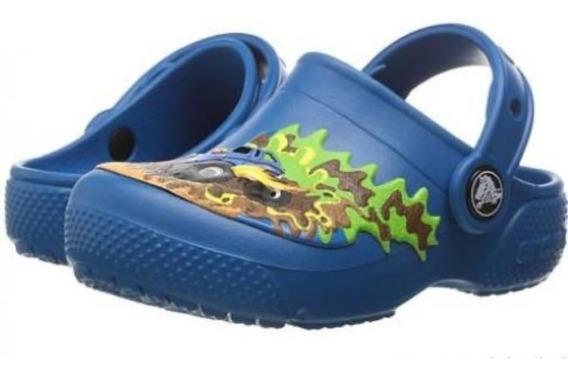 Zapatos Crocs De Niño Monster Truck