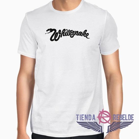 Remera De Hombre Whitesnake Banda