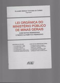 Livro - Lei Orgânica Do Ministério Publico De Minas Gerais