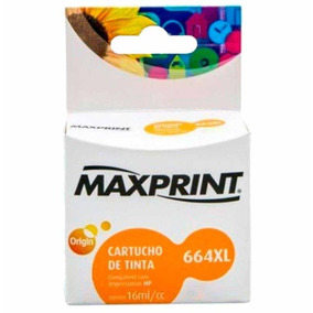 Cartucho Hp Clf6v30a Color(664xl) 17ml / Un / Maxprint