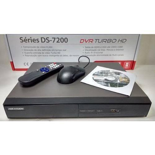 Dvr Hikvision Turbo Hd 08 Ch - Ds -7208 Hghi -e1