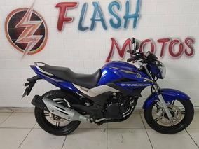 Yamaha Fazer Ys 250 2016 Azul Impecavel