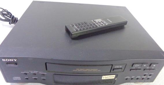 Aparelho Sony Compacto Disc Play Cdp-m33 Não Funciona