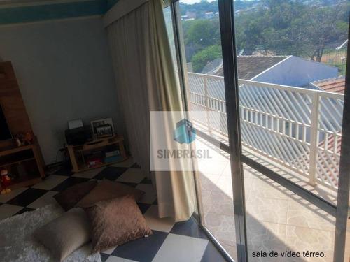 Sobrado Com 3 Dormitórios - Parque Residencial Vila União - Campinas/sp - So0015