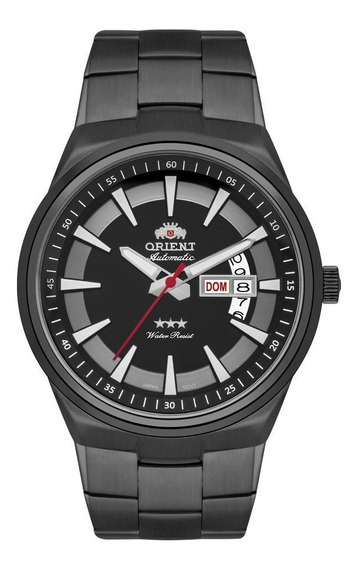 Relógio Orient Automático Masculino Fumê 469bp081 P1gx