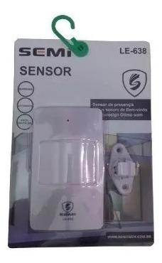 Sensor De Presença Campainha Anunciador Ding Dong Segurança