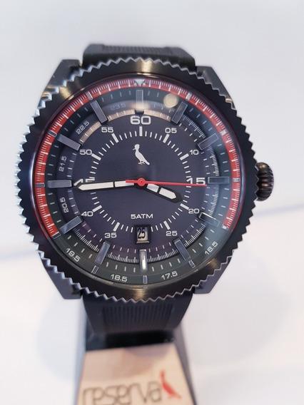 Relógio Masculino Reserva Pulseira Silicone