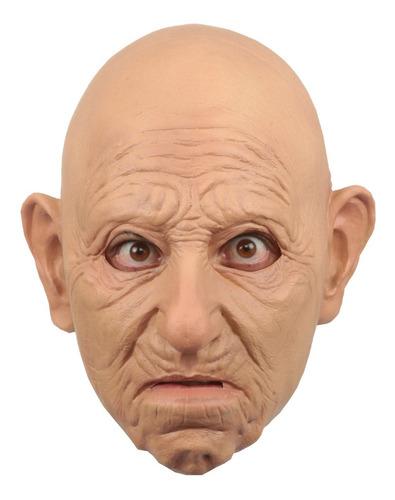 Máscara De Látex Old Man Perfect Fit Viejito Realista