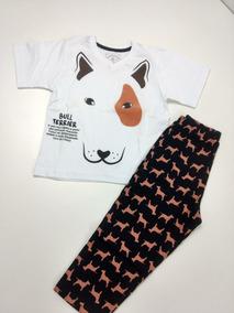 Pijama Infantil Menino Bull Terrier Mc C/ Calça 2