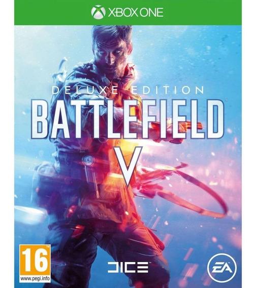Battlefield V 5 Deluxe Xbox One Código 25 Dígitos Digital