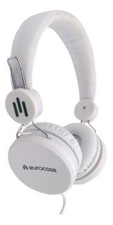 Auriculares Eurocase Vincha Microfono Celular Pc Tablet 3.5m