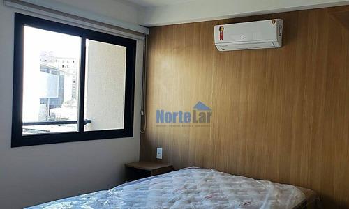 Studio Com 1 Dormitório Para Alugar, 25 M² Por R$ 2.250/mês - Centro - São Paulo/sp - St0034