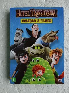 Hotel Transilvânia Coleção 3 Filmes! Dvd 3 Filmes
