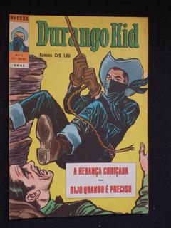 Durango Kid - Nº 1 - 1974 - Ebal - Hq