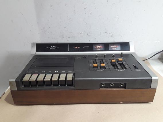 Cassete Tape. Deck Deitado Teac A-170 No Estado