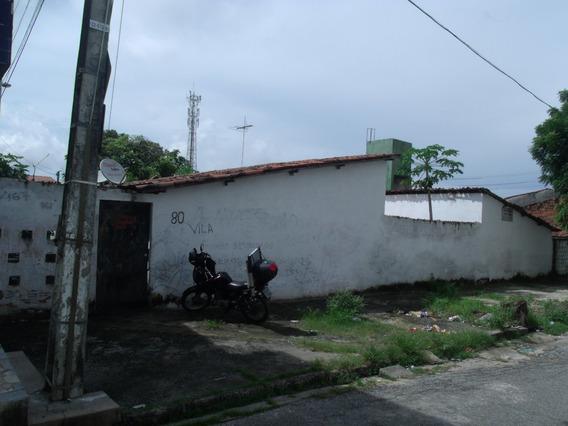 Casa Com 2 Quartos Na Maraponga, Sala, Cozinha, Quintal