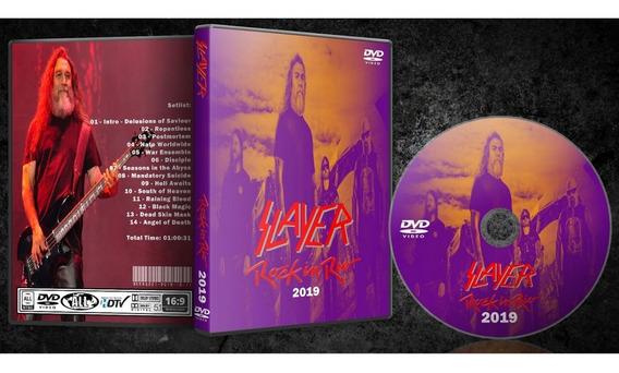 Dvd Slayer - Rock In Rio 2019 - C/ Box + Foto Brinde